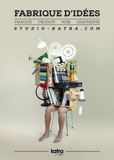 Je tenais à vous parler de Studio Katra, un studio nantais qui ne manque pas d'idées et de talents, j'espère que leurs créations vous feront vibrer autant que moi. Studio Katra, design & innovation Le Studio Katra, installé à Nantes, est une agence de design spécialisée dans la différenciation par le design. Les designers interviennent sur deux domaines stratégiques de l'entreprise : le produit et la marque.