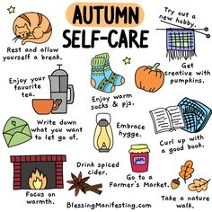 Autumn self-care is a great way to celebrate the season. Make this autumn all about taking care of your needs and taking care of yourself. Self Care Activities, Autumn Aesthetic, Up Book, Self Care Routine, Happy Fall, Take Care Of Yourself, Fall Halloween, Self Improvement, Self Love