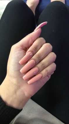 Send nudes Long nails Coffin nails Nude nails
