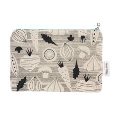 Rosie Moss for SMUG Vegetable Zip Pouch
