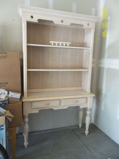 China Hutch Display And White On White On Pinterest