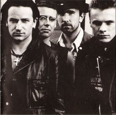 u2. Love love love this group. Larry Mullin, Jr. That's all I have to say about that.