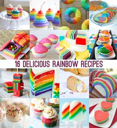 16 delicious rainbow recipes for St. Patty's