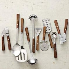 Shop west elm for essential kitchen utensils that really make a home kitchen complete. Find cooking tools along with kitchen accessories and mixing bowls. Kitchen Items, Kitchen Utensils, Kitchen Tools, Kitchen Gadgets, Kitchen Storage, Food Storage, Kitchen Necessities, Kitchen Essentials, Kitchen Equipment