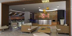Design Lobby/ night Hotel Crown Plaza Mzt in collaboration with studio ArqLab I Dic 13