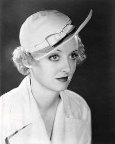 Young Bette Davis eyes, 1930s