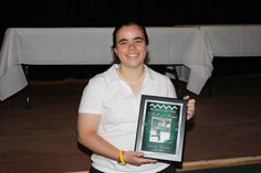 Emma Becker is inducted into Brimmer and May's Hall of Fame.