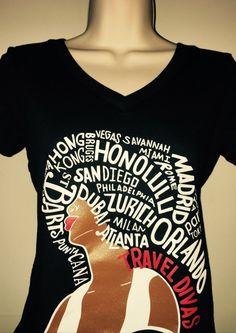 Travel Divas Culture T-Shirt - MY HAIR