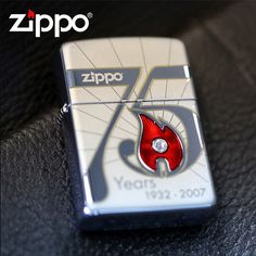 2007 Zippo Armor 75th Anniversary Limited Edition Lighter