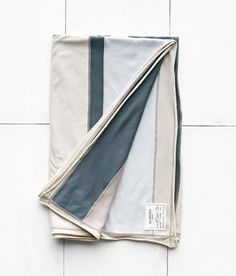 <p>We collaborated with our good friends at Alabama Chanin to create custom linens that embody the down-home sophistication they're known for, complementing our seasonal collection. Made of sustainably sourced 100% organic cotton French Terry, each Emory throw features a patchwork combination of stripes in five colors (parchment, silt, twilight, light blue, and natural), and varies slightly. </p>  <p>Wash gently and hang to dry. Sewn in Florence, Alabama by the Alabama...
