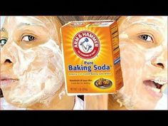 New skin face mask baking soda Ideas Baking Soda Face Wash, Baking Soda Scrub, Baking Soda Cleaning, Baking Soda Shampoo, Baking Soda Uses, Baking Soda Coconut Oil, Baking Soda And Lemon, Oil Face Wash, Dry Sensitive Skin
