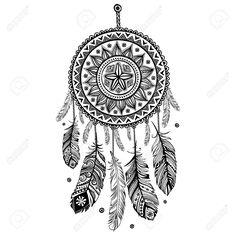 http://es.123rf.com/photo_25424834_etnico-receptor-indio-americano-sueno.html