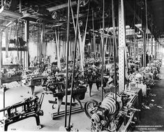 How Did Factories Get Power to Their Machines Before Electricity? - Core77
