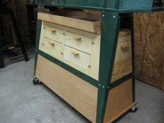 Knock Down Storage for Under My Harbor Freight Lathe