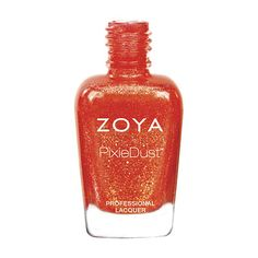 Destiny by Zoya can be best described as a coral metal sparkle in the exclusive Zoya PixieDust Textured, Matte, Foil Twinkle formula.  Color Family - Orange  Finish - PixieDust  Intensity - 5 ( 1 = Sheer - 5 = Opaque )  Tone - Warm