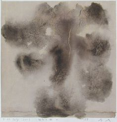 D-24.July.2001 状なき状  painting on paper   林孝彦 HAYASHI Takahiko