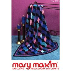 Free Shadow Blocks Afghan Pattern - Free Patterns - Books & Patterns