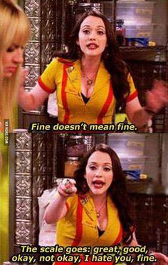 Fine.. #twobrokegirls