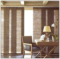 window treatments sliding doors