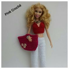 Die 771 Besten Bilder Von Barbie Kleidung Häkeln Crochet Clothes