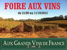 La Foire aux Vins 2015 à Montpellier c'est chez le caviste