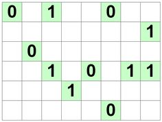 Number Logic Puzzles: 21440 - Binary size 1