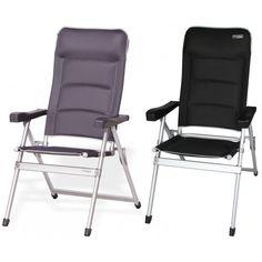 Luxe campingstoel van #Westfield voorzien van een padding en geïntegreerde hoofdsteun. Deze Smartico campingstoel is verstelbaarin vijf standen. #dws