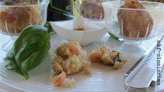 crocchette ai gamberi con riduzione di aceto balsamico