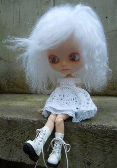 Poppy OOAK custom Blythe doll by nhola on Etsy