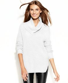 6be0a0e3be7 MICHAEL Michael Kors Chunky Knit Cowl-Neck Sweater   Reviews - Swimwear -  Women - Macy s