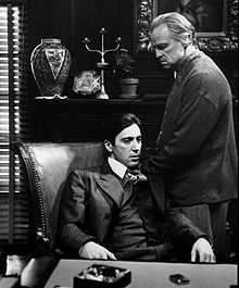 """Mar 15th, 1972; """"The Godfather,"""" Francis Ford Coppola's epic gangster movie based on the Mario Puzo novel and starring Marlon Brando and Al Pacino, premiered in New York."""