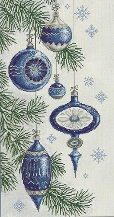 New Free of Charge Cross Stitch embroidery Strategies Christmas balls cross stitch Xmas Cross Stitch, Cross Stitch Charts, Cross Stitch Designs, Cross Stitching, Cross Stitch Patterns, Christmas Embroidery, Diy Embroidery, Cross Stitch Embroidery, Embroidery Patterns