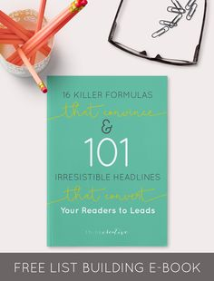 16 Killer Formulas that Convince and 101 Irresistible Headlines that Convert Your Readers to Leads  |  Free E-Book  |  Think Creative