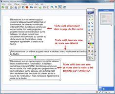 Copier-coller à partir d'une page Web (2)