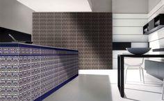 azulejo 14x28, سرامیک_Ceramica artesanal en cocina, Moroccan Tiles, azulejo sevillano