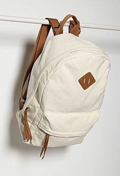 Classic Canvas Backpack | Forever 21 - 1000184132