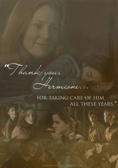 Thank you, Hermione...