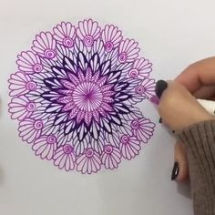 62 ideas zentangle art dibujos mandalas for 2019 Doodle Art Drawing, Cool Art Drawings, Pencil Art Drawings, Art Drawings Sketches, Drawing Ideas, Black Pen Drawing, Sharpie Drawings, Pencil Drawings Of Flowers, Art Drawings Beautiful
