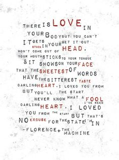 Original Artwork by Brittain Rhea (click photo for details! Sing To Me, Me Me Me Song, Wise People, Florence The Machines, Florence Welch, Heart Frame, How To Speak French, Music Tattoos, Typography Prints