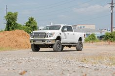 6in Suspension Lift Kit for 2016 4WD Nissan Titan XD Pickups | Rough Country Suspension Systems®