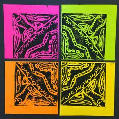 Art Talk @ CRES: Radial Design Monoprints