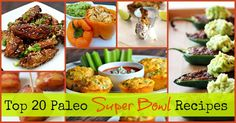Here are the Top 20 Paleo Super Bowl Recipes. From Loaded Mexican Nachos to Chili Pepper Poppers, this list covers the best Paleo Football Party Recipes! Football Party Foods, Clean Eating, Healthy Eating, Healthy Food, Paleo Appetizers, Tailgating Recipes, Foods To Avoid, How To Eat Paleo, Paleo Diet