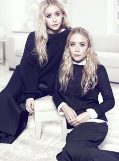 visual optimism; fashion editorials, shows, campaigns & more!: icons of the future: mary-kate olsen and ashley olsen by miguel reveriego for...