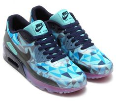 Nike Air Max 90 ICE-Barely Blue.
