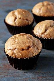 Chai Spice Glazed Doughnut Muffins | My Baking Addiction