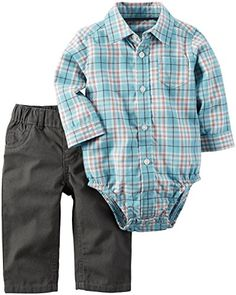 Carters Baby Boys 2 Piece Sets Blue New Born ** Learn more by visiting the image link.Note:It is affiliate link to Amazon.
