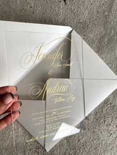 Wedding Invitations now at super affordable prices! #weddinginvitations #transparentinvitations #acrylicinvitations #acrylicsavethedates #acrylicweddinginvitation #barmitzvahinvitation #clearinvitations #moderninvitations #cheapacrylicinvitations #mitzvahinvitations #savethedate #uniqueweddinginvitations #velluminvitation #vellumwraps #weddingideas #weddinginspiration #weddinginvitationcards #weddinginvites #weddingplanning #weddingtrends Shabby Chic Invitations, Burlap Wedding Invitations, Wood Invitation, Acrylic Wedding Invitations, Wedding Invitation Sets, Rustic Wedding Stationery, Bar Mitzvah Invitations, Winter Weddings, Weddingideas
