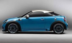 New Mini Cooper Coupe - so cute!