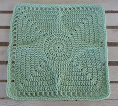 """Ravelry: Standout Star 12"""" Square pattern by Aurora Suominen"""