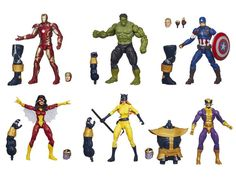 Marvel Avengers Infinite Legend Series 2 Out Soon